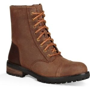 NEW UGG Kilmer II Shearling Lined Combat Boots